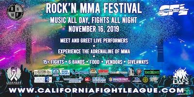 California Fight League  XV - Rock'n Mma Festival