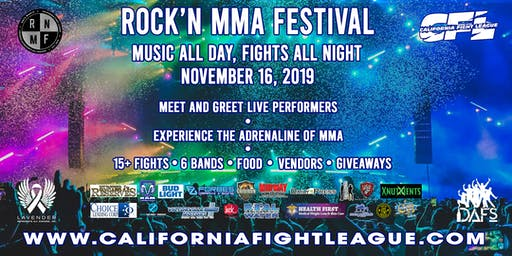 California Fight League  XV - Rock'n Mma Festival