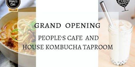 Cafe Grand Opening / $15 Soft Launch: 1 Ramen + 1 Boba Tea tickets