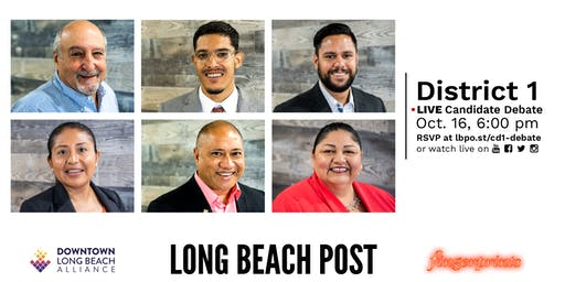 Long Beach 1st District Council Candidate Forum