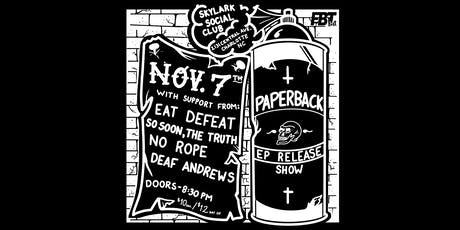 Paperback EP Release Show at Skylark Social Club tickets