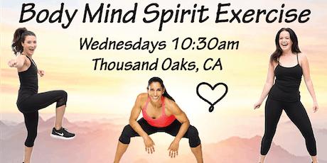 "Body Mind Spirit Exercise ~ ""inten~Sati"" tickets"