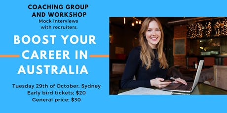BOOST YOUR CAREER IN AUSTRALIA tickets