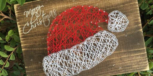 *Sold Out* Winter Christmas String Art Class