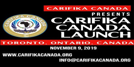 CARIFIKA CANADA LAUNCH 2019 tickets