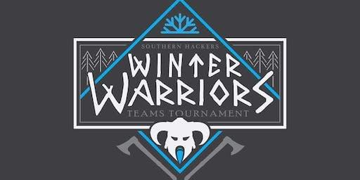 Winter Warriors Axe Throwing Teams Tourney