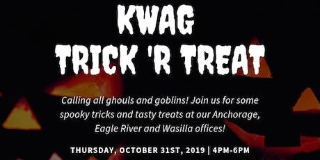 Wasilla KWAG Trick 'R Treat tickets