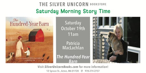 Saturday Morning Storytime: Patricia MacLachlan