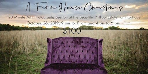 A Farm House Christmas Mini Photo Session