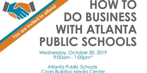 How to Do Business with Atlanta Public Schools