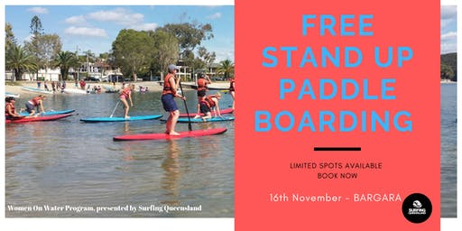 FREE Stand Up Paddle Boarding - Bargara