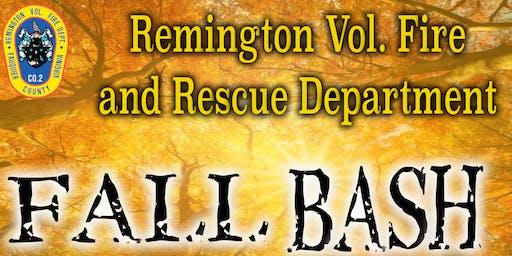 Remington Vol. Fire and Rescue Fall Bash