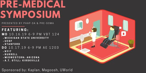 PHAP Pre-Health Symposium: DO (Medical School)