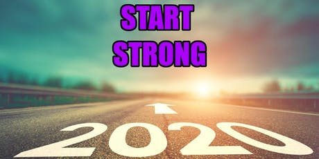 Start Strong 2020 Plan Session tickets