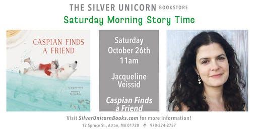 Saturday Morning Storytime: Jacqueline Veissid