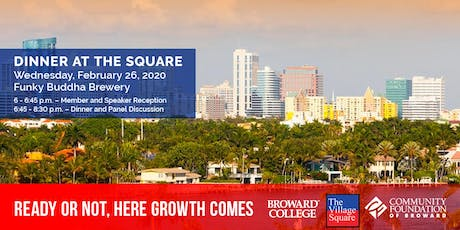 Dinner at the Square: Ready or Not, Here Growth Comes tickets