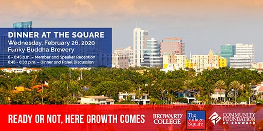 Dinner at the Square: Ready or Not, Here Growth Comes