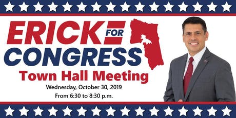 Town Hall Meeting - Dr. Erick Aguilar, U.S. Navy Retired (LiveStream Avail) tickets
