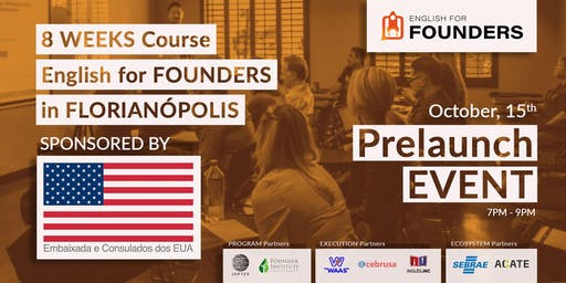 English for FOUNDERS | Prelaunch Event