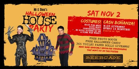 Beercade's Halloween House Party tickets