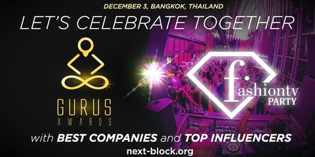 ASIA FashionTV PARTY & Gurus Awards tickets