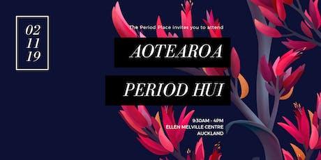 Aotearoa Period Hui tickets