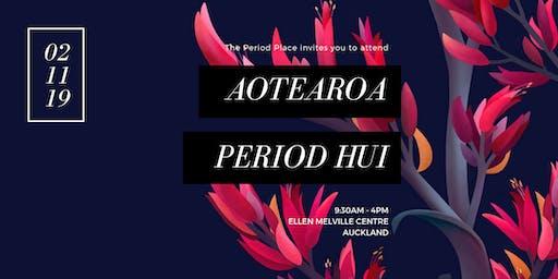 Aotearoa Period Hui