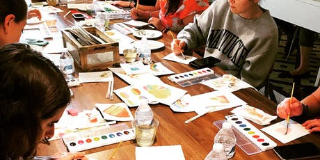 Watercolor Paint Night - Illustrations with Erin Williams tickets