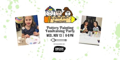 Pottery Painting Fundraising Party