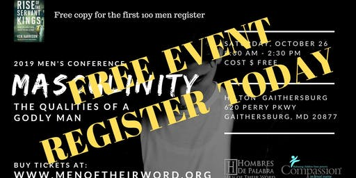 Masculinity, Men Of Their Word Conference