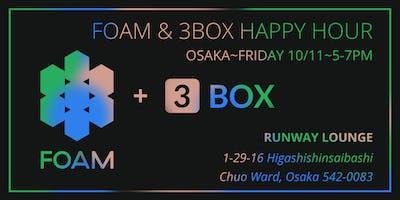 FOAM + 3Box DevCon Happy Hour in Osaka