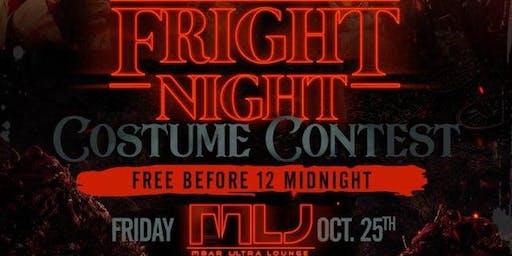 Fright Night Costume Contest