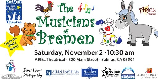 REACH Theatre presents The Musicians of Bremen ~ A New Musical