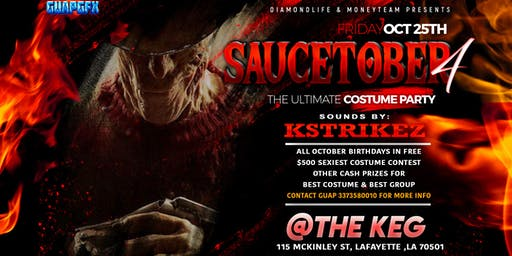 Saucetober 4 Costume Party