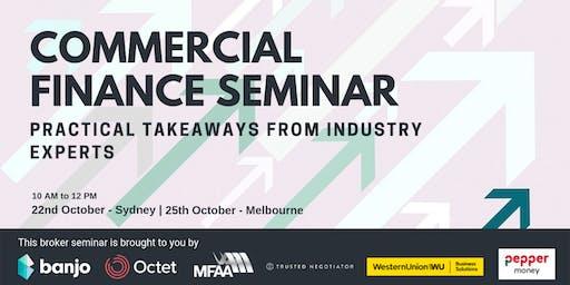 Commercial Finance Broker Seminar - Sydney