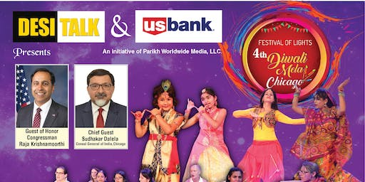 4th Annual Desi Talk & US Bank Diwali Mela Chicago