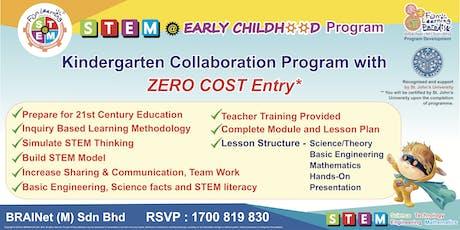 STEM Early Childhood Program Collabration - B2B ( Kindergarden ) tickets