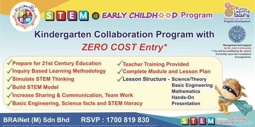 STEM Early Childhood Program Collabration - B2B ( Kindergarden )