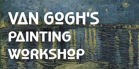Van Gogh's Painting Workshop tickets