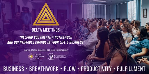 Delta Meeting: FLOW with Breathwork & Bulletproof Coffee