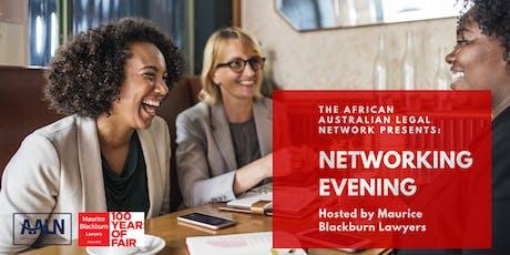 Networking Evening | African Australian Legal Network tickets