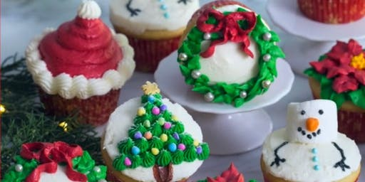 Buttercream Bliss - Christmas Cupcake Decorating Workshop (GF available)