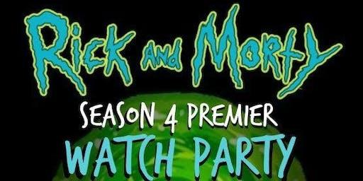 Rick & Morty Season 4 Watch Party
