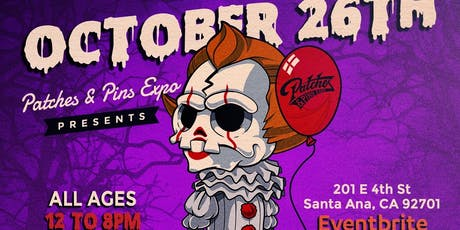 Patches & Pins Expo Orange County tickets