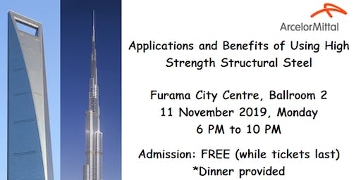 """Seminar """"Applications and Benefits of Using High Strength Structural Steel"""""""