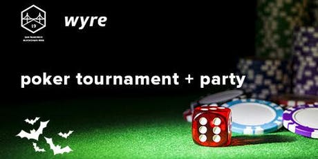 Wyre's Crypto Poker + Party - Halloween Edition tickets