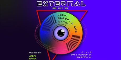 EXTERNAL ft. Sleepy&Boo, Jedai, E-ROK tickets