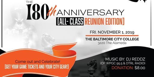The 180th Anniversary (All- Class Reunion Edition)