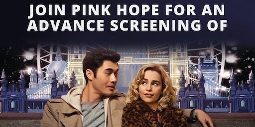 Pink Hope Charity Movie Night Fundraiser ~ The Last Christmas