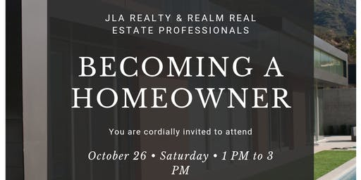 Becoming A Homeowner 2019